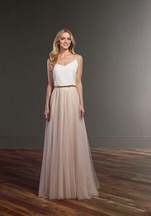 Martina Liana Taye + Sawyer A-Line Wedding Dress