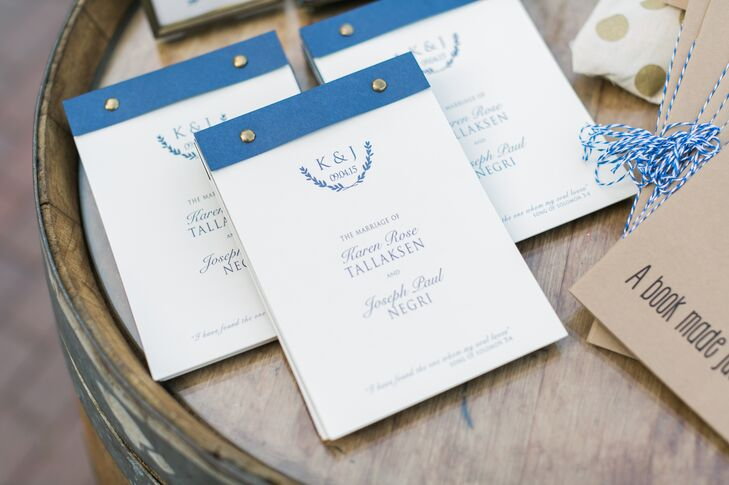 Custom Flipbook Ceremony Programs