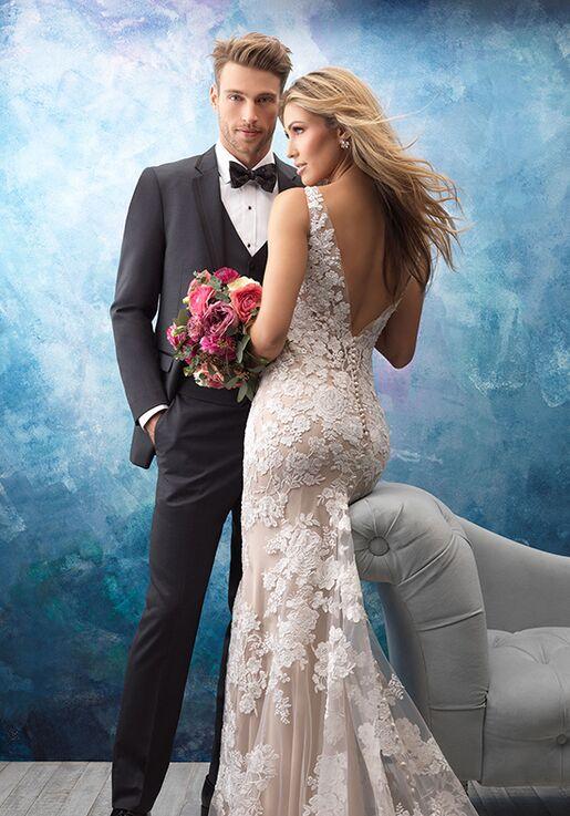 Allure Bridals 9556 Sheath Wedding Dress