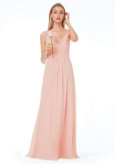 #LEVKOFF 7034 V-Neck Bridesmaid Dress