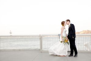 Modern, Whimsical Museum Wedding in San Francisco