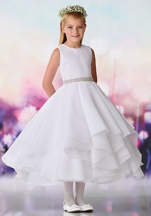 f8ee4fe9db Joan Calabrese by Mon Cheri 119391 Flower Girl Dress - The Knot