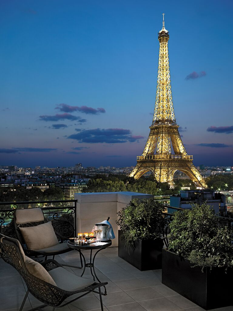 shangri la suite chaillot paris france