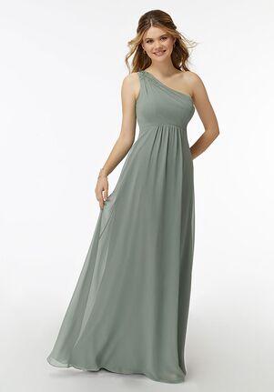 Morilee by Madeline Gardner Bridesmaids 21738 One Shoulder Bridesmaid Dress