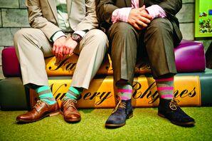 Fun Striped Socks