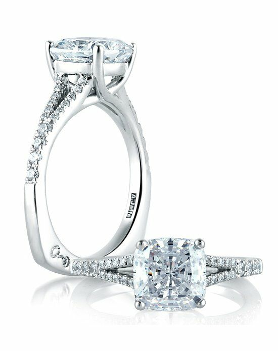 A Jaffe Knot Engagement Rings