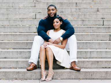 Devon Still & Asha Joyce NYC engagement session
