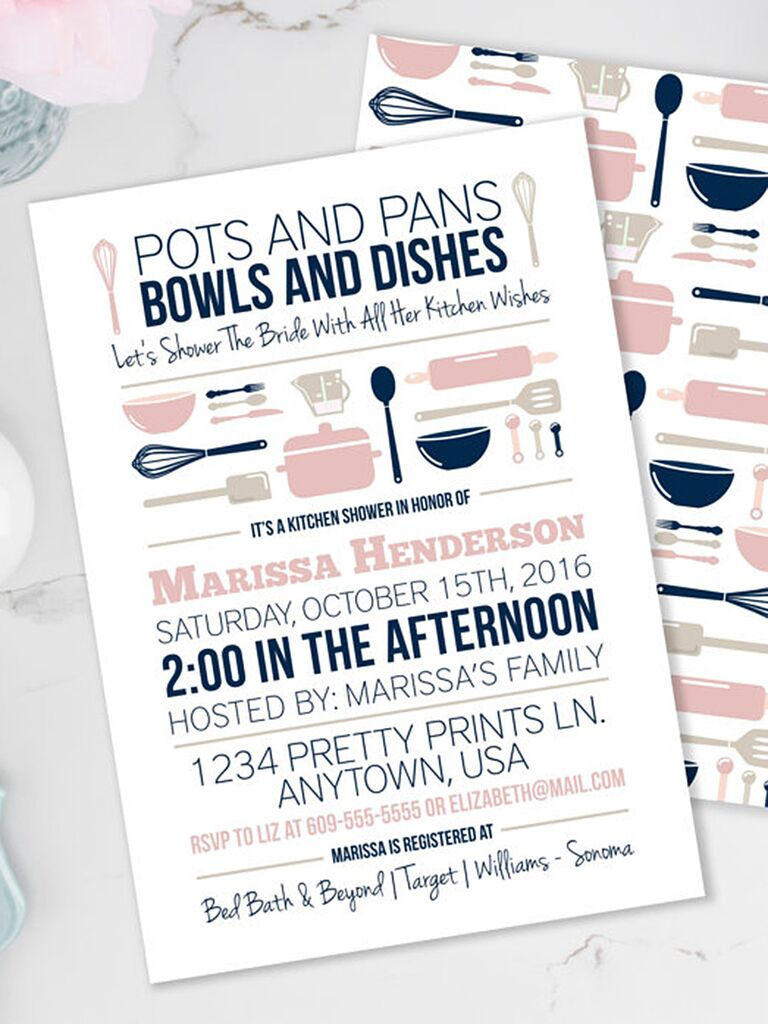 stock the kitchen printable bridal shower invitation diy