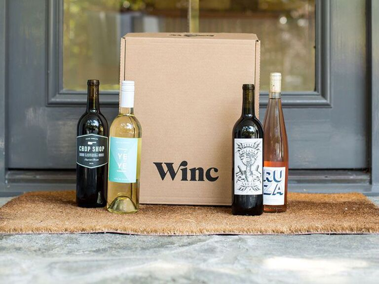 Winc wine box gift for wife