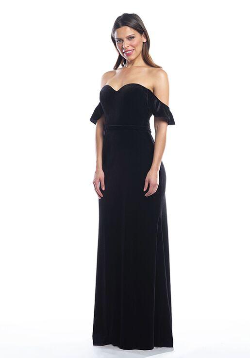 Bari Jay Bridesmaids 2089 Off the Shoulder Bridesmaid Dress