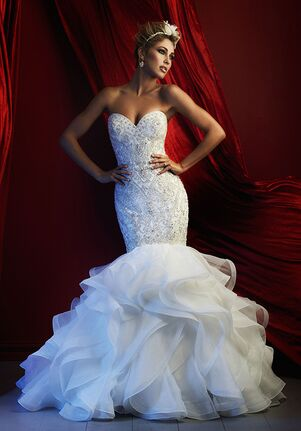 Allure Couture C367 Sheath Wedding Dress