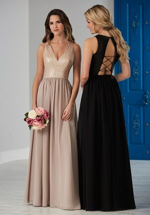 Christina Wu Celebration 22857 V-Neck Bridesmaid Dress