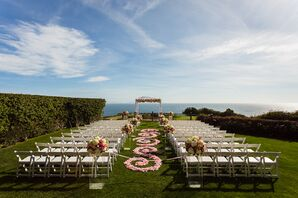 Outdoor Waterfront Ceremony at Trump National Golf Club