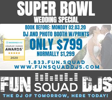 Portland Wedding DJ | FUN SQUAD DJS | 1.833.FUN.SQUAD