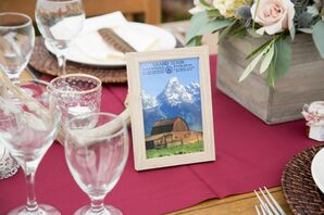 Illustrated Wyoming-Themed Table Names