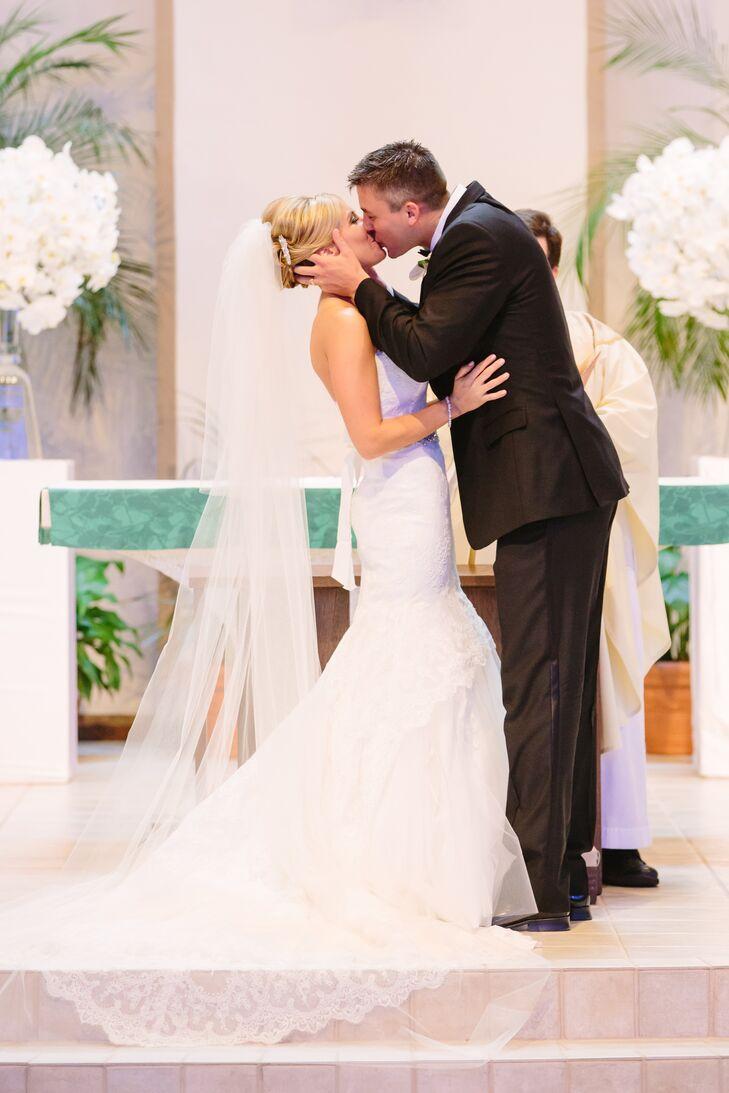 Stephanie and Zachary's First Kiss