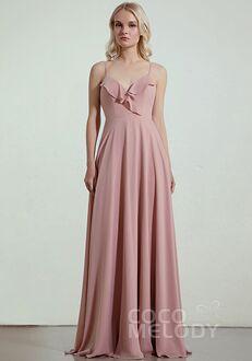 CocoMelody Bridesmaid Dresses RB0322 V-Neck Bridesmaid Dress