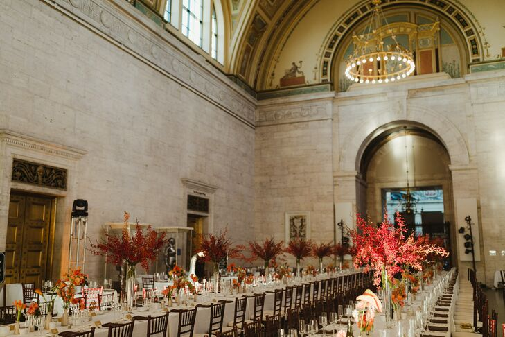 Reception in the Great Hall at Detroit Institute of Arts