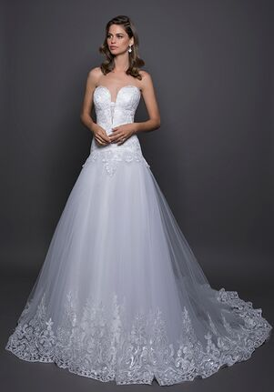 LOVE by Pnina Tornai for Kleinfeld 14597 A-Line Wedding Dress