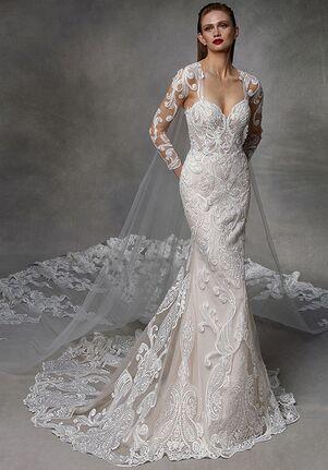 Badgley Mischka Bride Dolly Mermaid Wedding Dress