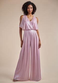Belsoie Bridesmaids by Jasmine L224053 V-Neck Bridesmaid Dress