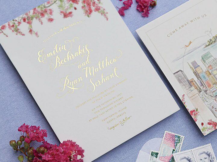 handpainted invitations