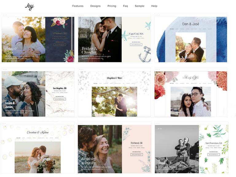 Joy Wedding Website.9 Best Wedding Website Builders To Use In 2019 Best Wedding Websites