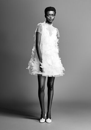 Viktor&Rolf Mariage LILY GARDEN MINI A-Line Wedding Dress