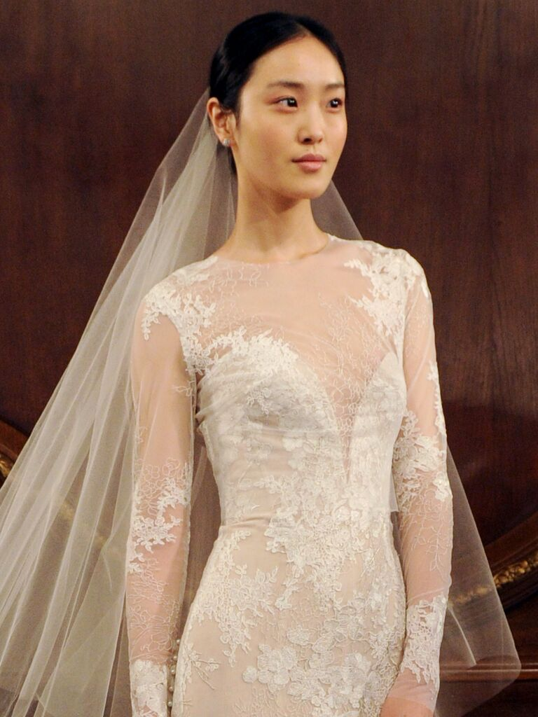 Lhuillier Spring 2019 Collection: Bridal Fashion Week Photos
