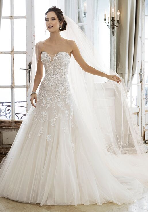 Sophia Tolli Y11866 Adonia A Line Wedding Dress