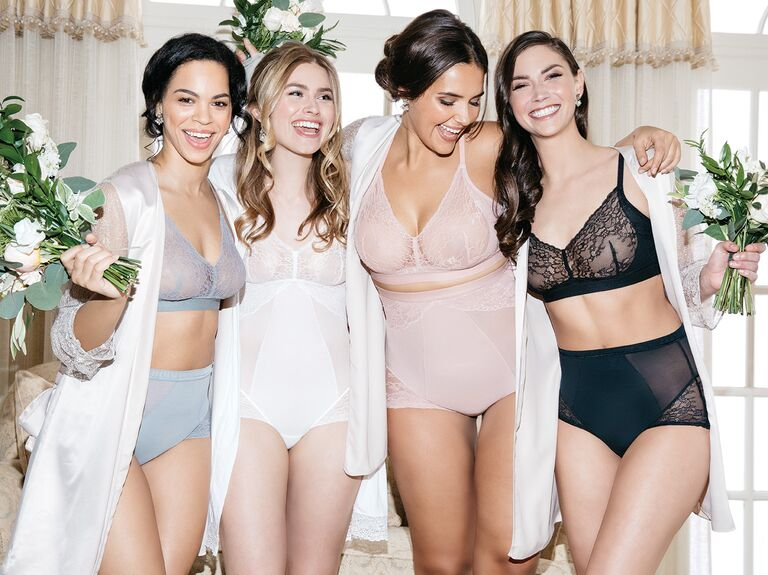 48aaf87f62 New Spanx Wedding Collection Is Bridal Heaven