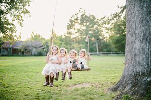 Matching Cowboy Boot Bridal Party Attire