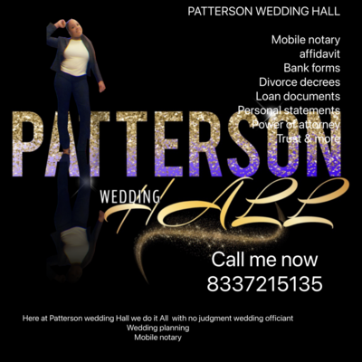 Pattersons Wedding Hall