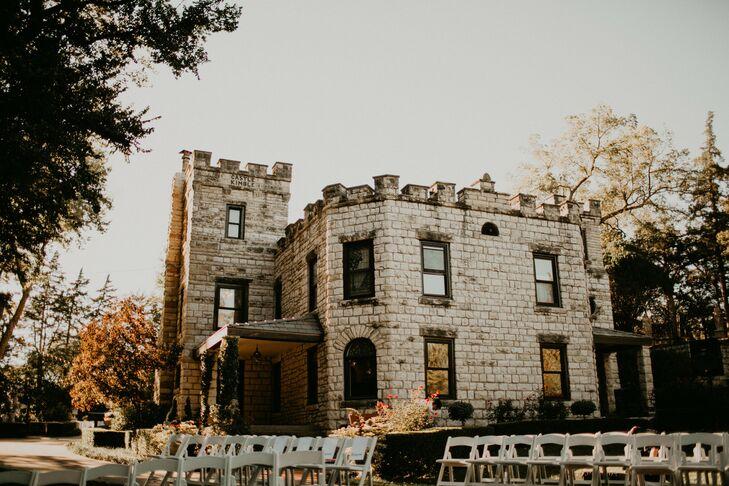 Intimate, Private Castle Lawn Ceremony