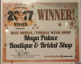 Maya Palace Boutique and Bridal Shop