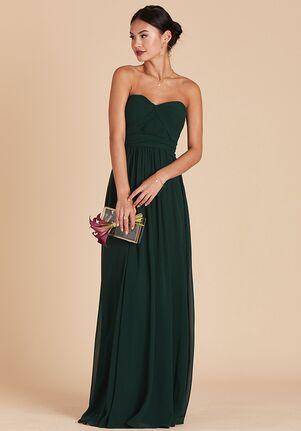 Birdy Grey Grace Convertible Dress in Emerald Sweetheart Bridesmaid Dress