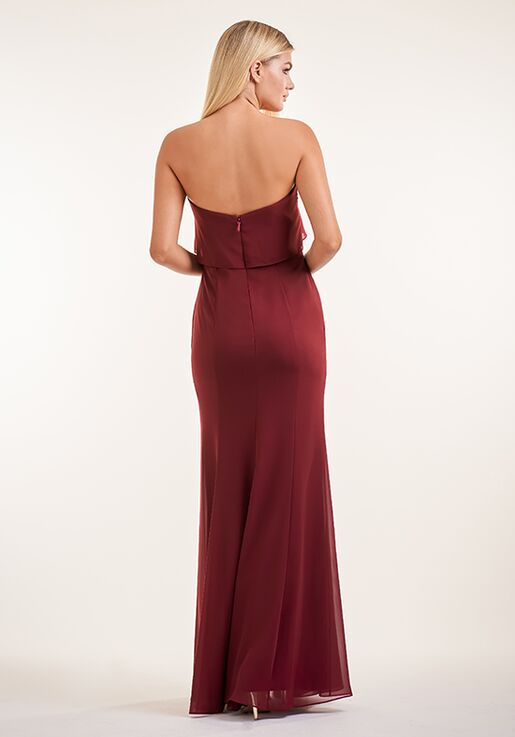 JASMINE P226003 Strapless Bridesmaid Dress