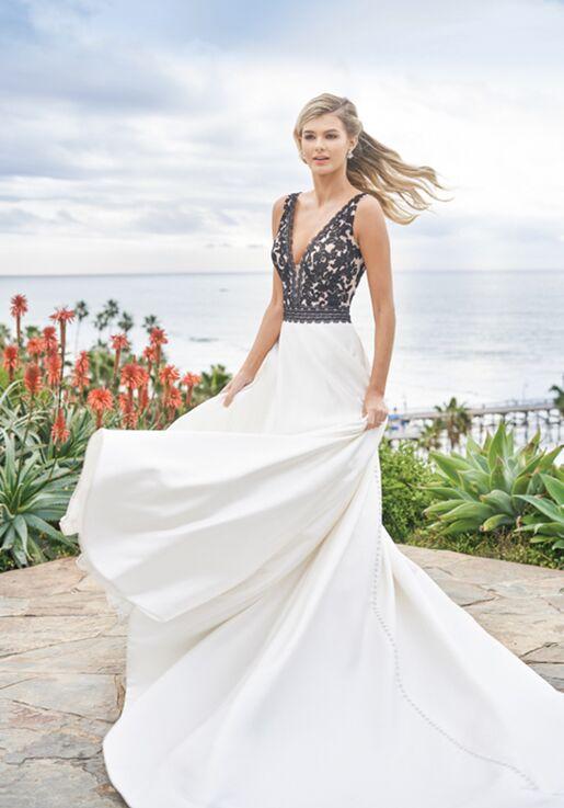 Jasmine Collection F211053 A-Line Wedding Dress