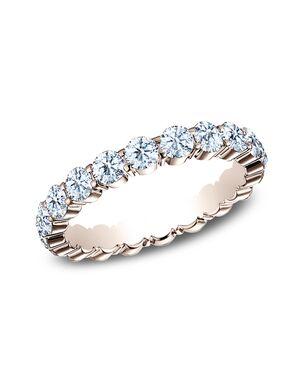 Benchmark 5535023R Rose Gold Wedding Ring