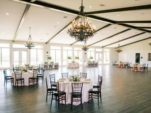 Wedding Reception at Dove Ridge Vineyard in Weatherford, Texas