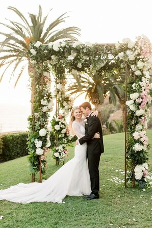 Wedding Portraits at Luxurious Bel-Air Bay Club Wedding in California