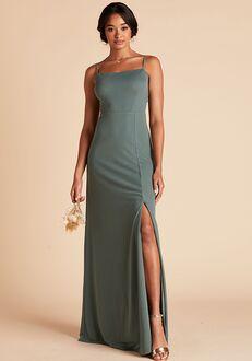 Birdy Grey Benny Crepe Dress in Sea Glass Scoop Bridesmaid Dress