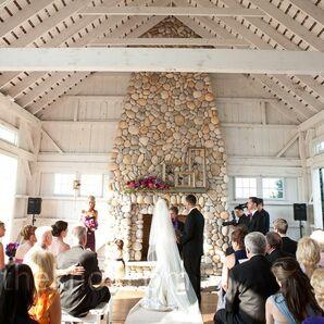 Weathered Wood and Stone Venue