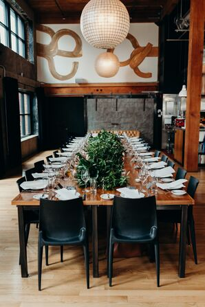 Intimate and Modern Reception at Plaza Del Toro in Portland