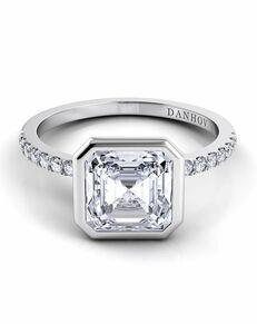 Danhov Asscher Cut Engagement Ring