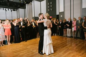 Bride and Groom First Dance at The Asbury Hotel