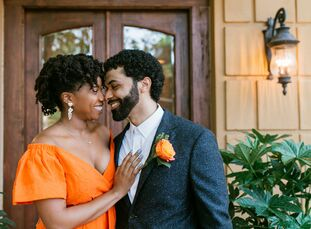 Chloe Bootstaylor (and attorney) and Jeremey Key (a software developer) initially planned to celebrate with a large Atlanta wedding. However, when the