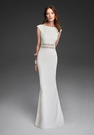 Alma Novia REAL Mermaid Wedding Dress
