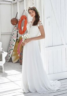 Lillian West 66037 A-Line Wedding Dress