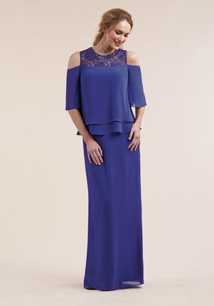Jasmine Black Label Mother of the Bride M210052 Purple Mother Of The Bride Dress
